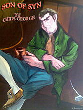 """Son of Syn"" by Chris George - Painting by Terry Anthony ©"